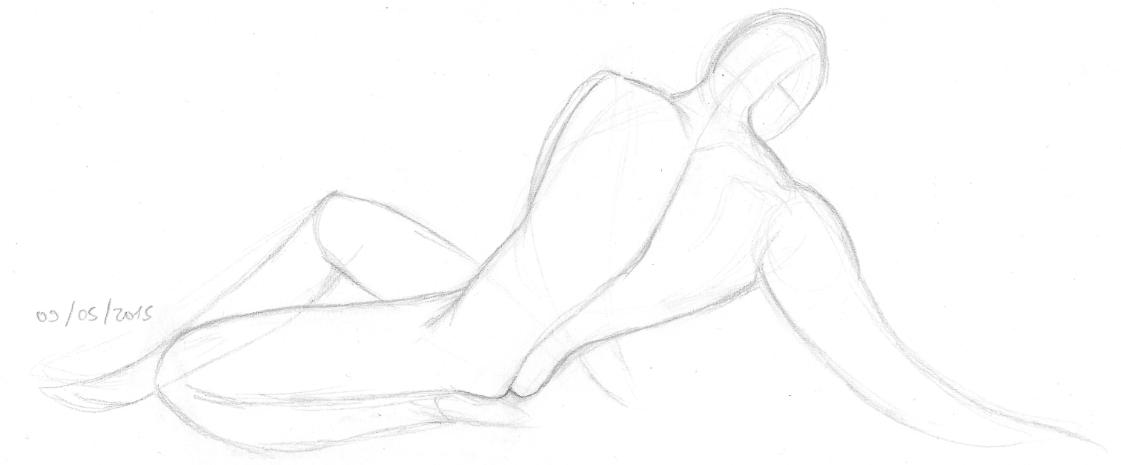 Disegnando gente nuda!