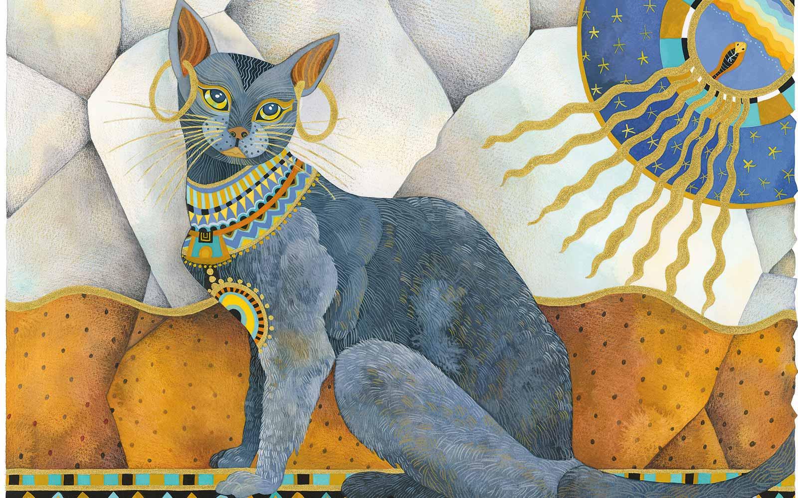 Le avventure di Norvy, il Gatto Immaginario di Luca e Chiara – GATTI EGIZI – 6°pt