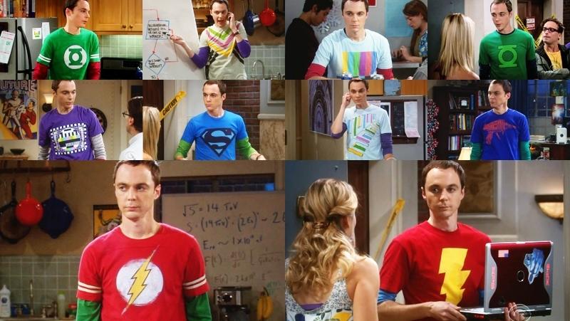magliette di sheldon cooper