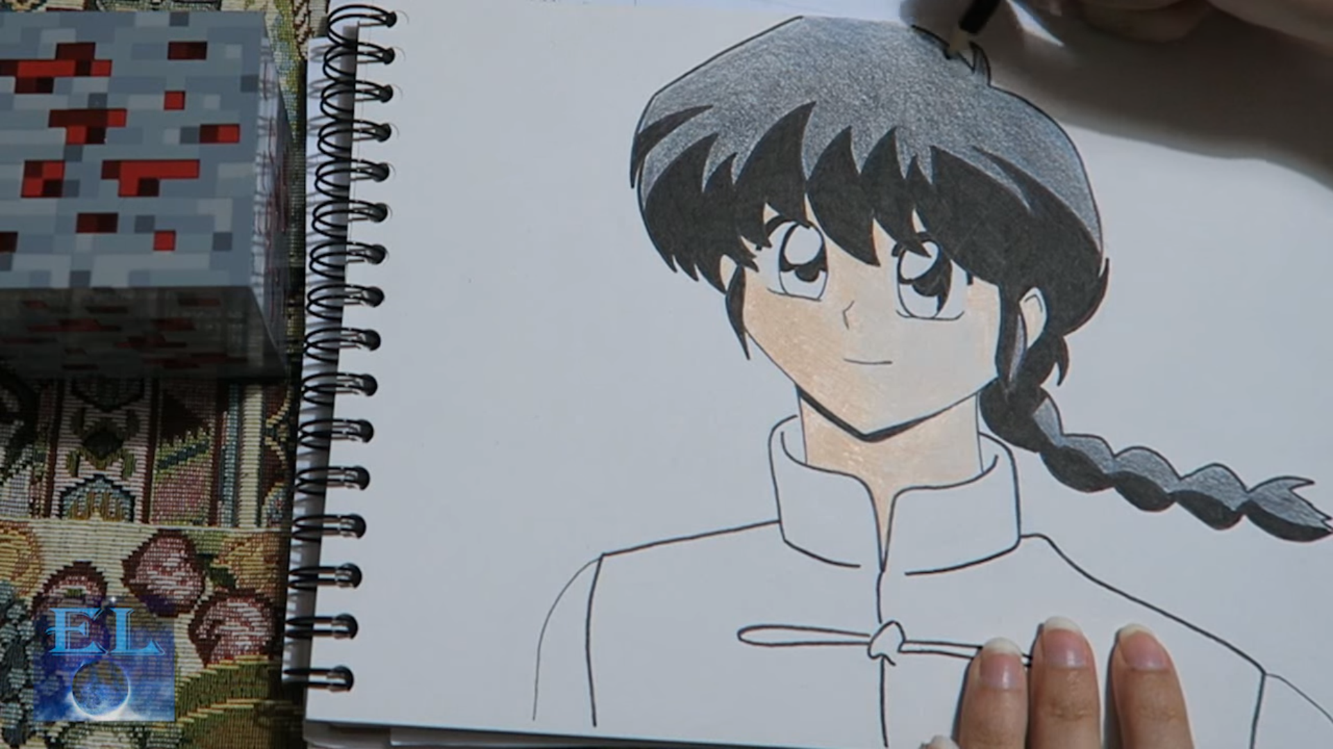 Speed Art: Ranma Saotome – Ranma 1/2