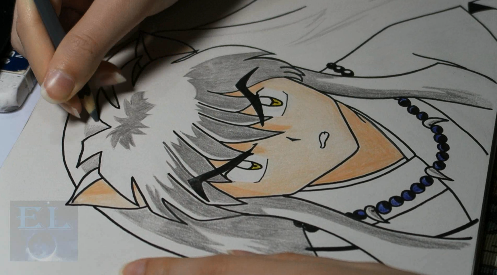Speed Art: Inuyasha (By Chiara)